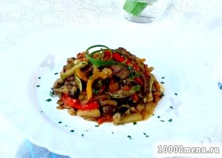 Кулінарний рецепт овочеве рагу