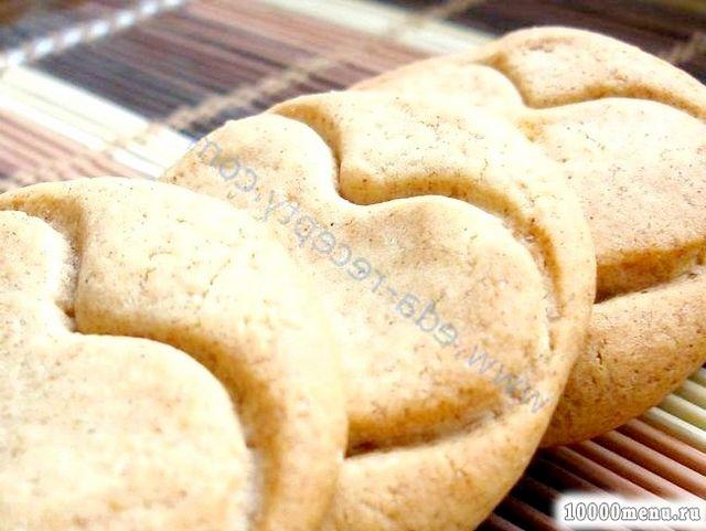 Кулінарний рецепт печиво медове з корицею з фото
