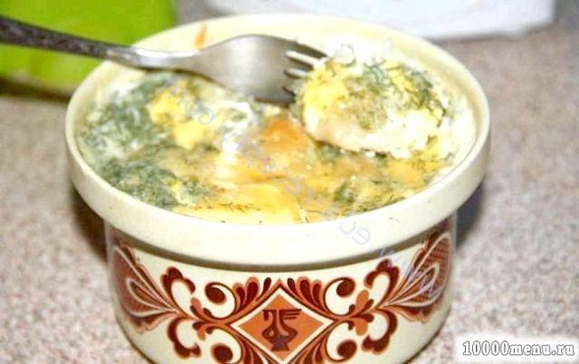 Кулінарний рецепт пельмені, запечені в молоці з фото