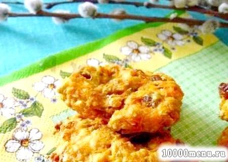 Фото - Пісне морквяне печиво