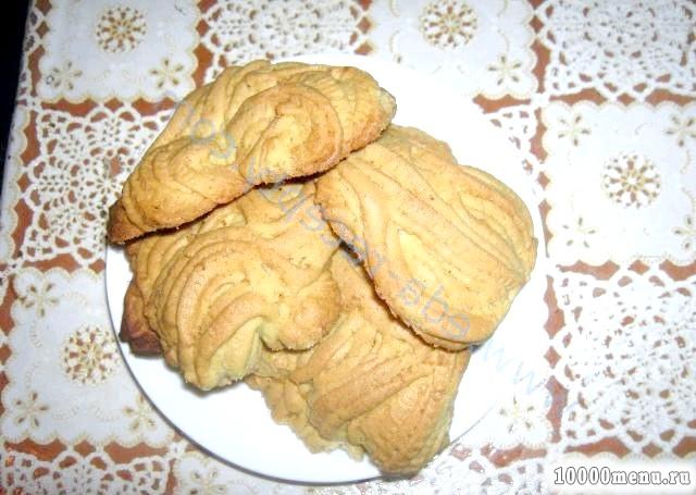 Кулінарний рецепт просте печиво з фото