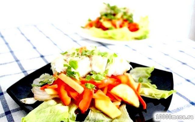 Фото - Рибний салат з тріски
