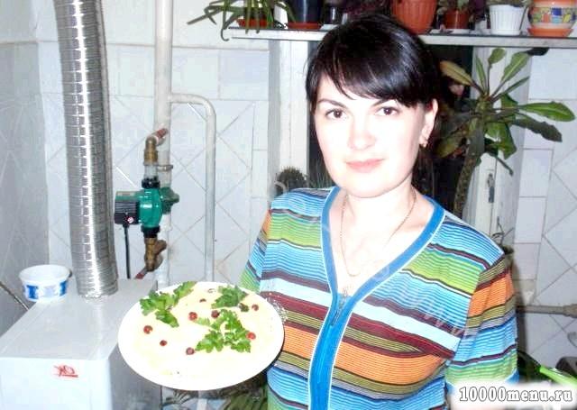 Фото - Готовий салат ставимо в холодильник на кілька годин щоб просочився
