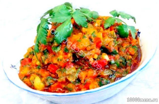 Кулінарний рецепт салат матбуха з фото