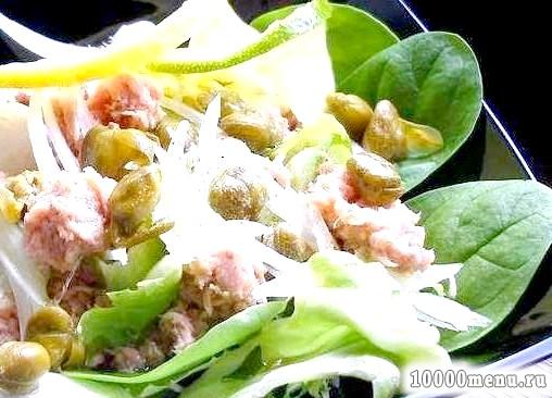 Кулінарний рецепт салат по-італійськи з фото