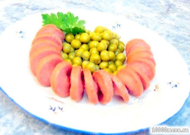 Кулінарний рецепт сосиски-спіральки з фото