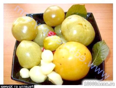Фото - Зелені помідори квашені