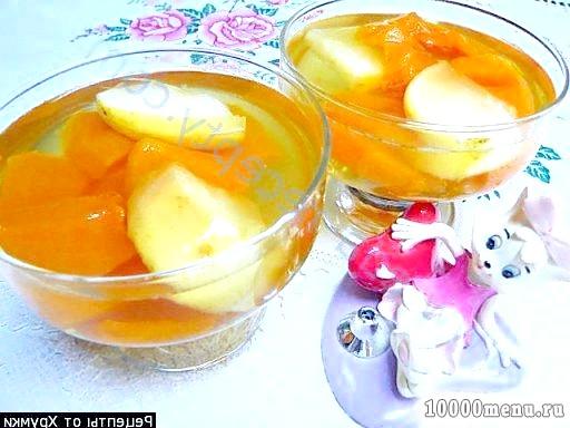 Фото - Желе десерт з гарбуза