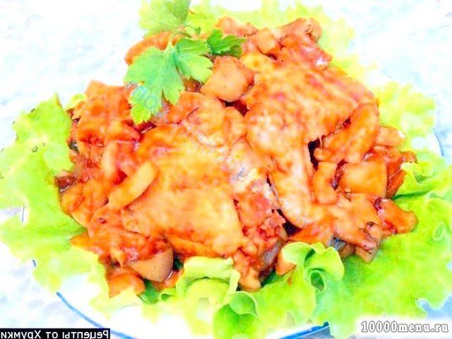 Рецепт курка в кисло-солодкому соусі в мультиварці з фото