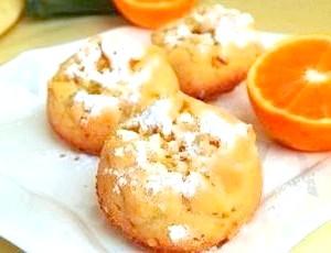 Рецепт маффіни з апельсином і кокосовою стружкою з фото