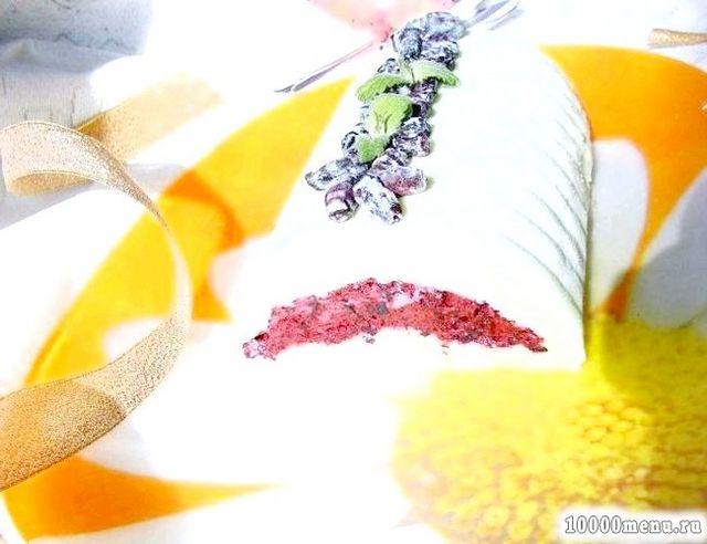 Фото - Морозиво-поліно з фісташками і жимолостю