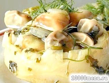 Фото - Оригінальний новорічний салат з артишоками