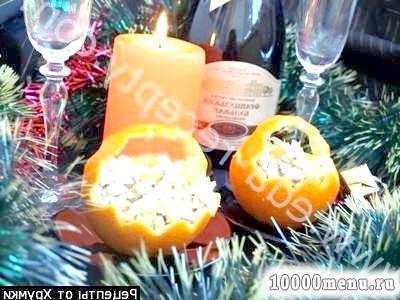 Фото - Порційний салат Курка в апельсинах