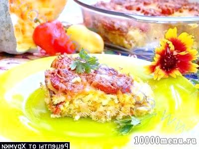 Фото - Гарбузово-рисова запіканка з помідорами